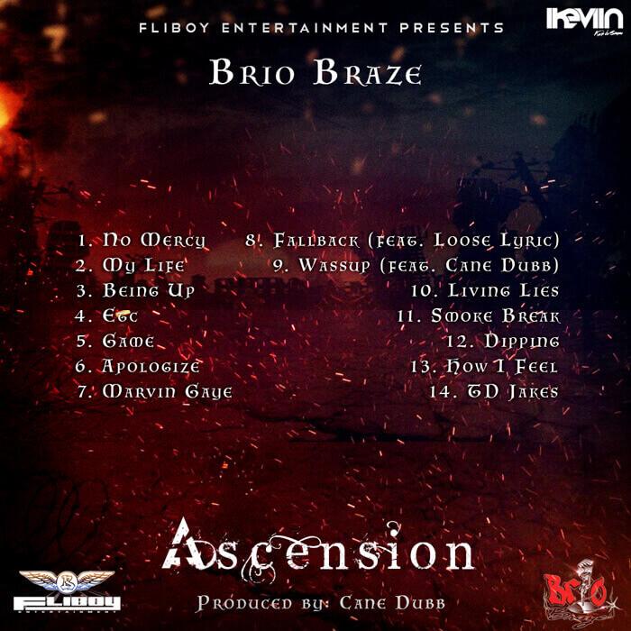 Brio Braze - Ascension (back) (Artwork by iKeviin)