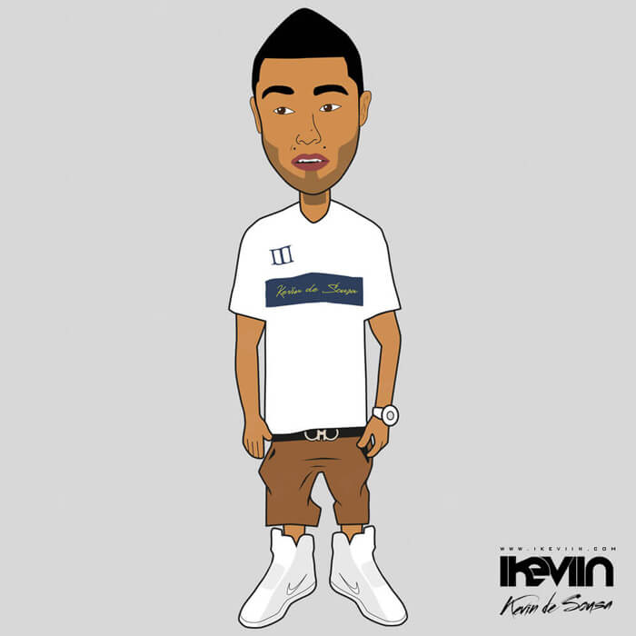 Cartoon iKeviin - Kevin de Sousa