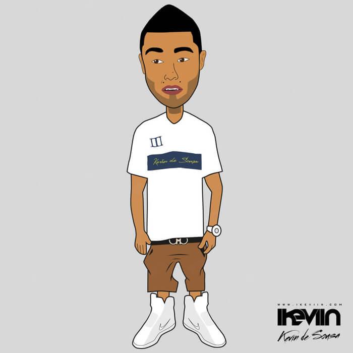 Cartoon iKeviin - Kevin de Sousa
