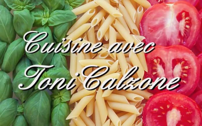 Cuisine avec Toni Calzone sur le blog de Kevin de Sousa