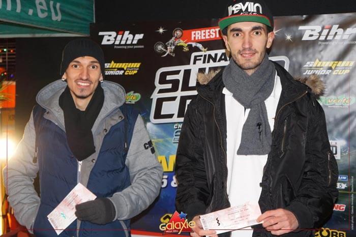 Kevin de Sousa (iKeviin) était invité à la finale du SX Tour (Supercross au Galaxie à Amnéville)