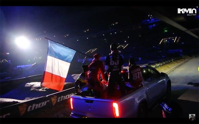 Kevin de Sousa (iKeviin) était au premier rang du Supercross de Paris 2017 à la U-Arena