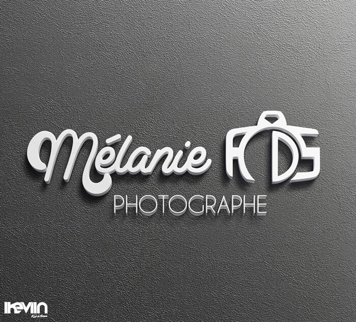 Logotype Mélanie RDS Photographie (Artwork by iKeviin)
