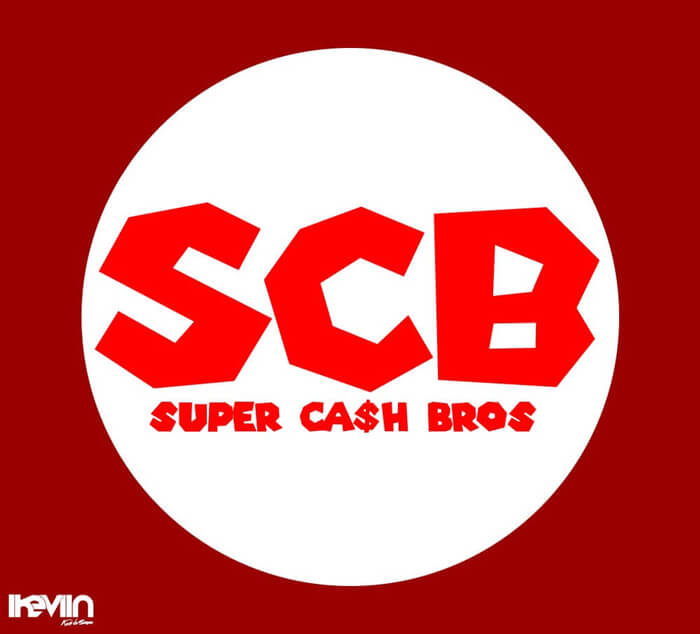 Logotype SCB - Super Cash Bros (Artwork by iKeviin)