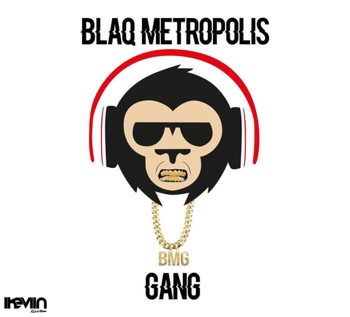 Logotype Blaq Metropolis Gang réalisé par iKeviin - Kevin de Sousa
