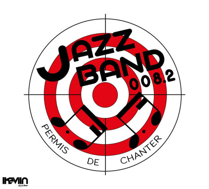 Logotype Jazz Band 008.2 réalisé par iKeviin - Kevin de Sousa