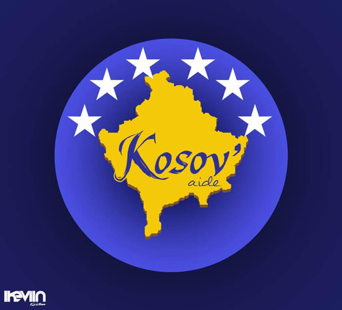 Logotype Kosov'Aide (Artwork by iKeviin)