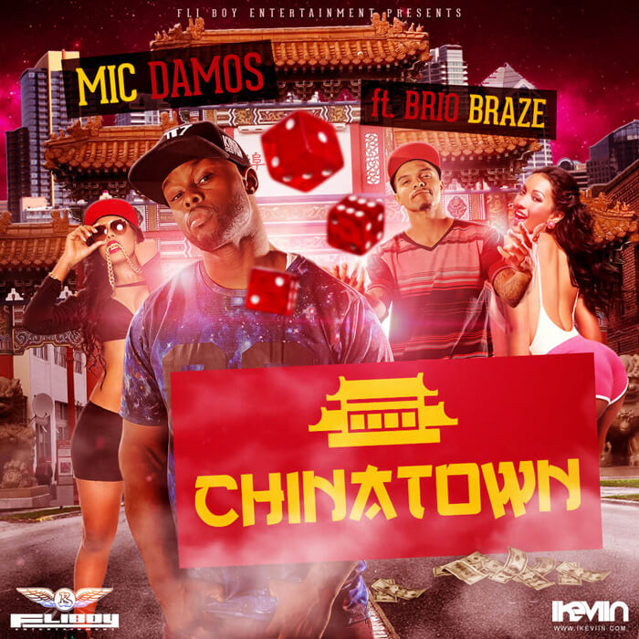 Mic Damos - ChinaTown (feat. Brio Braze) (Artwork by iKeviin)