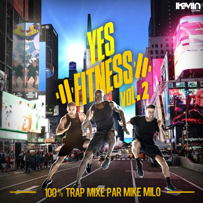 Mike Milo - Yes ! Fitness !! Vol.2 (Artwork by iKeviin)