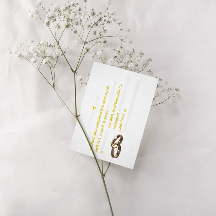 Invitez vos invités pour votre mariage, pour le baptême de votre enfant ou autre événement avec une carte d'invitation professionnelle dans un délai de 48 heures pour 60,00 euros seulement, iKeviin s'adapte en fonction de la thématique de l'événement et dans tout type de format. (paiement sécurisé par Paypal)
