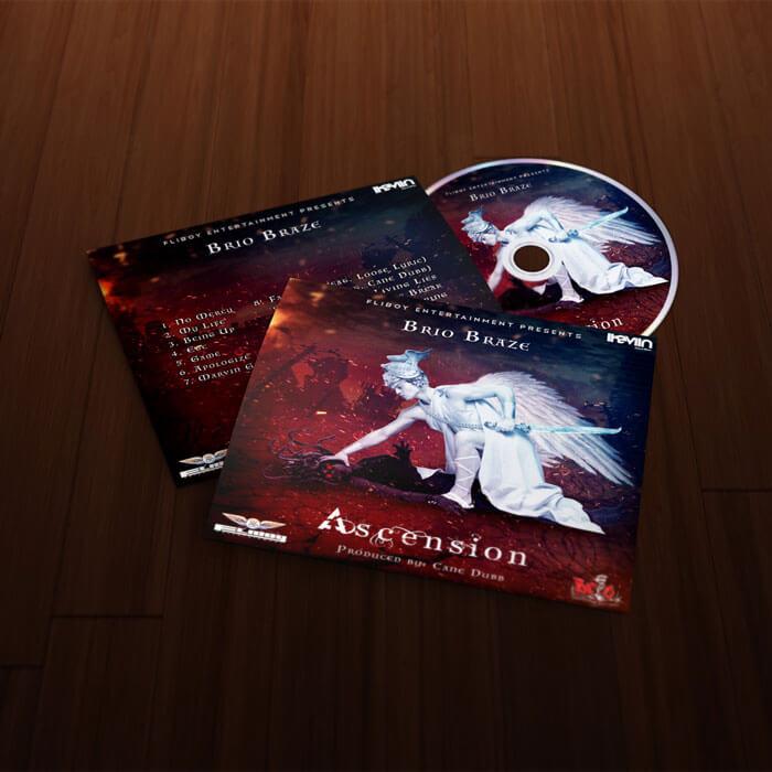 Vous voulez sortir un nouvel album et vous souhaitez frapper fort avec une pochette d'album professionnelle ? iKeviin se charge de la conception de votre pochette d'album dans un délai de 24 à 48 heures à partir de 40,00 euros seulement (paiement sécurisé par Paypal).