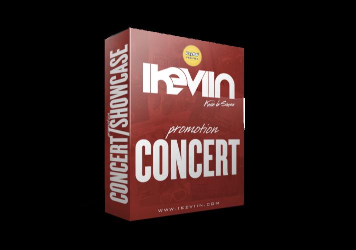 Promouvez votre concert/showcase/événement pour une durée de quinze jours pour 300,00 euros seulement (paiement sécurisé par Paypal).