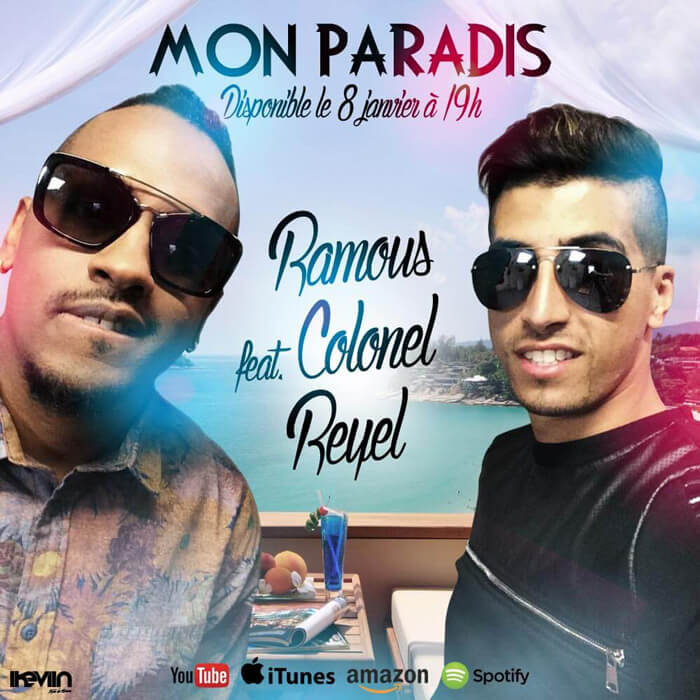 Visuel Ramous - Mon Paradis (feat. Colonel Reyel) (Artwork by iKeviin)