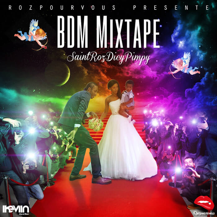 SaintRozDicyPimpy - BDM Mixtape (Artwork by iKeviin)