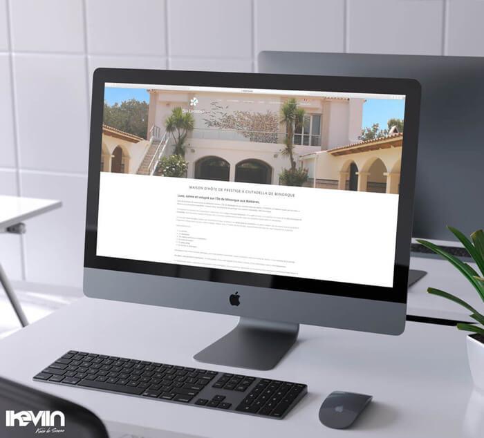 Site internet SA Legitima réalisé par Kevin de Sousa