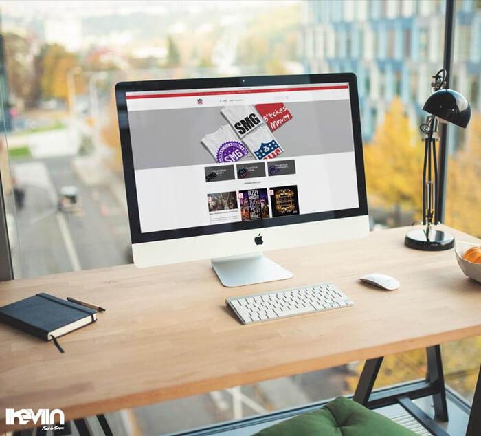 Site internet SMGClothing réalisé par Kevin de Sousa