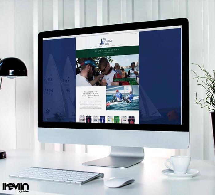 Site internet de Sail réalisé par Kevin de Sousa