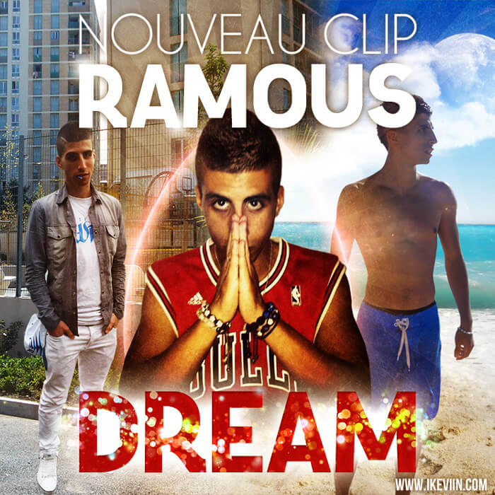 Visuel pour la promo du clip Dream de Ramous (Artwork by iKeviin)