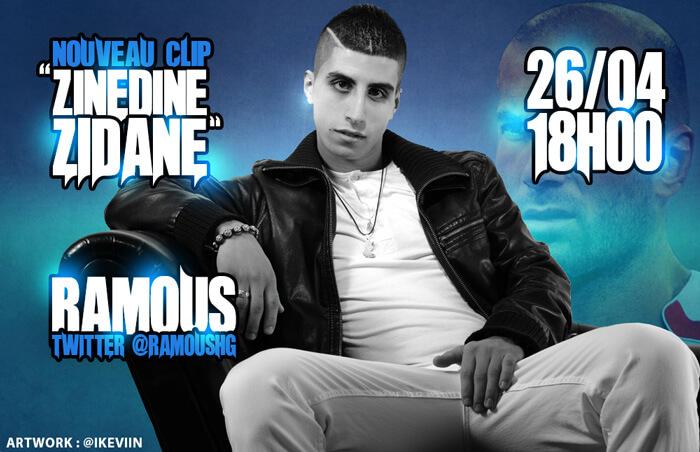 Visuel Ramous - Zinedine Zidane (Artwork by iKeviin)