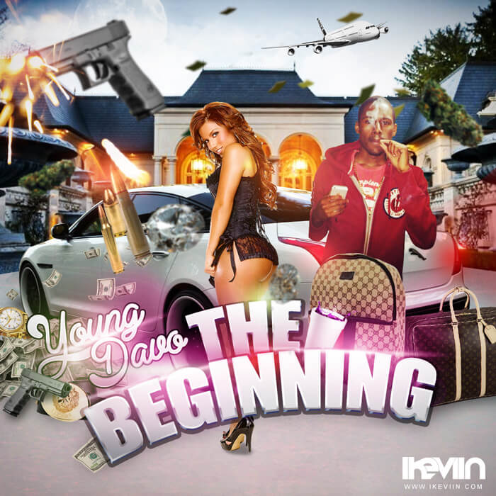 Young Davo - The Beginning (Artwork by iKeviin)